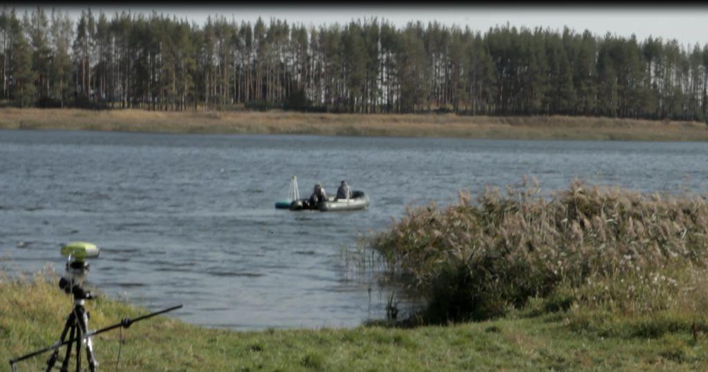 Лодка с георадаром и gps-приемники